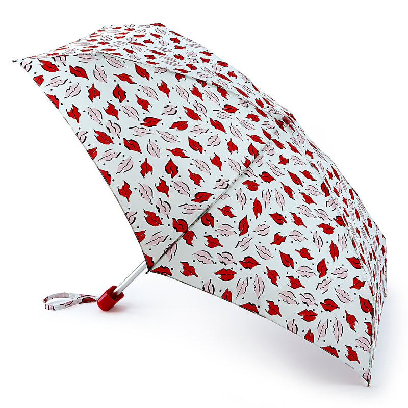 Lulu Guinness Beauty Mark Folding Umbrella