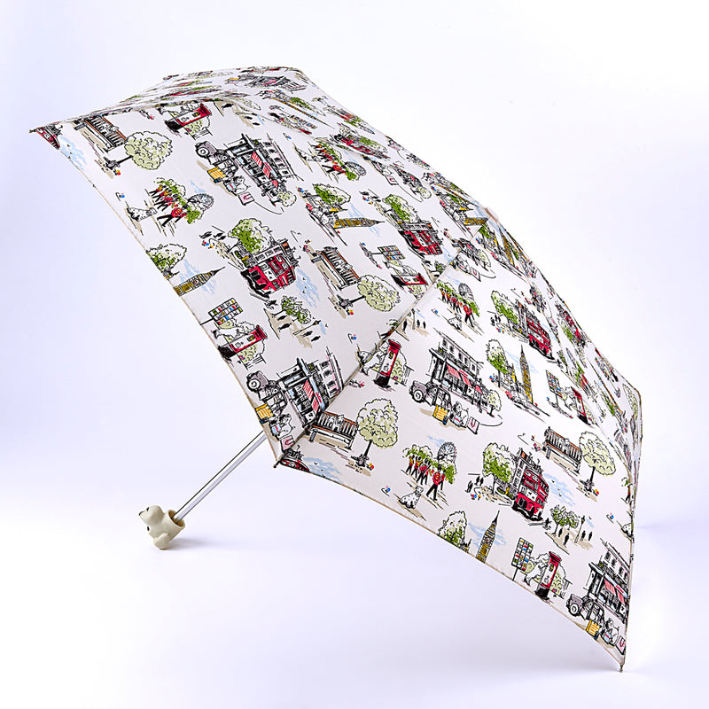 Cath Kidston Minilite 2 Folding Umbrella - Billie Goes To Town