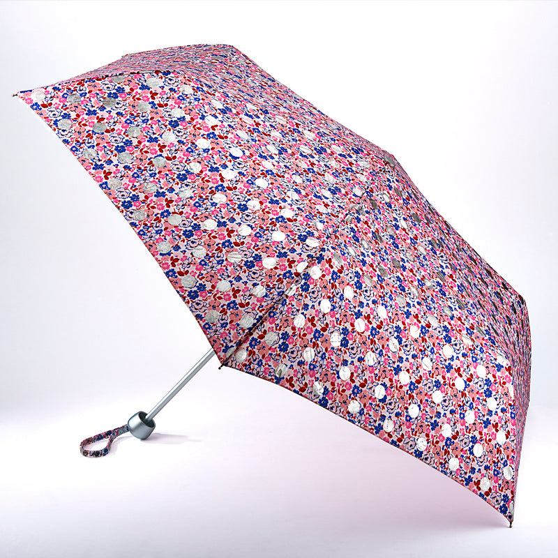 Cath Kidston Minilite Folding Umbrella - Ditsy Button Spot