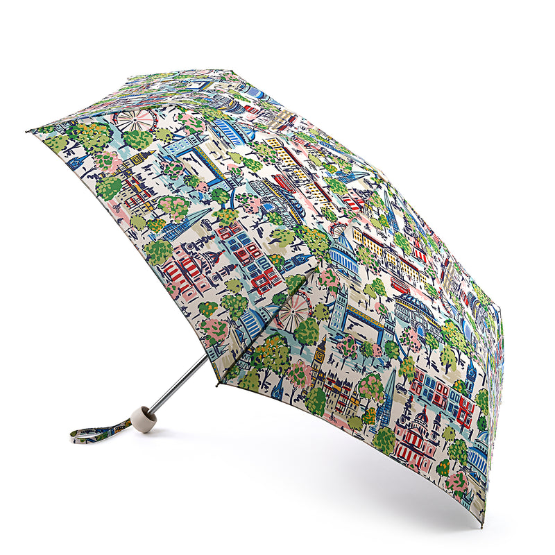 Cath Kidston Minilite 2 Folding Umbrella - London