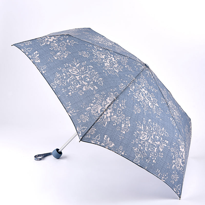 Cath Kidston Minilite 2 Folding Umbrella - Washed Rose