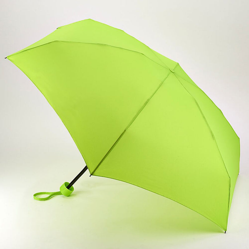 Fulton Soho Manual Folding Umbrella - Lime Green