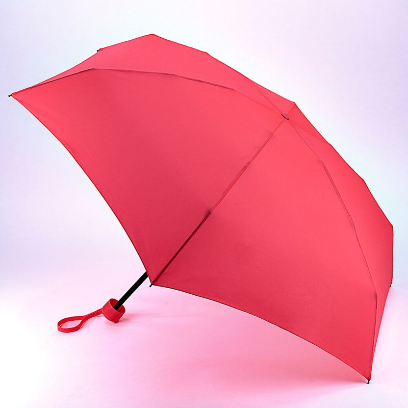 Fulton Soho Manual Folding Umbrella - Neon Pink