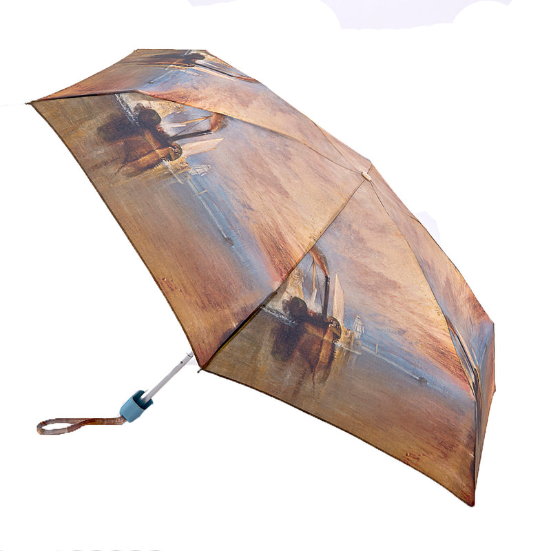 National Gallery Tiny Folding Umbrella - Turner 'The Fighting Temeraire'