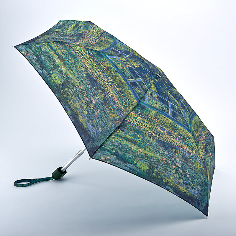 National Gallery Tiny Folding Umbrella - Monet 'Water-Lily Pond'