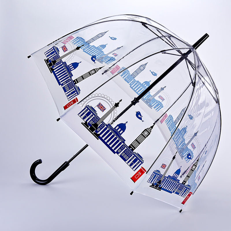 National Gallery Birdcage Clear Dome Umbrella - Skyline