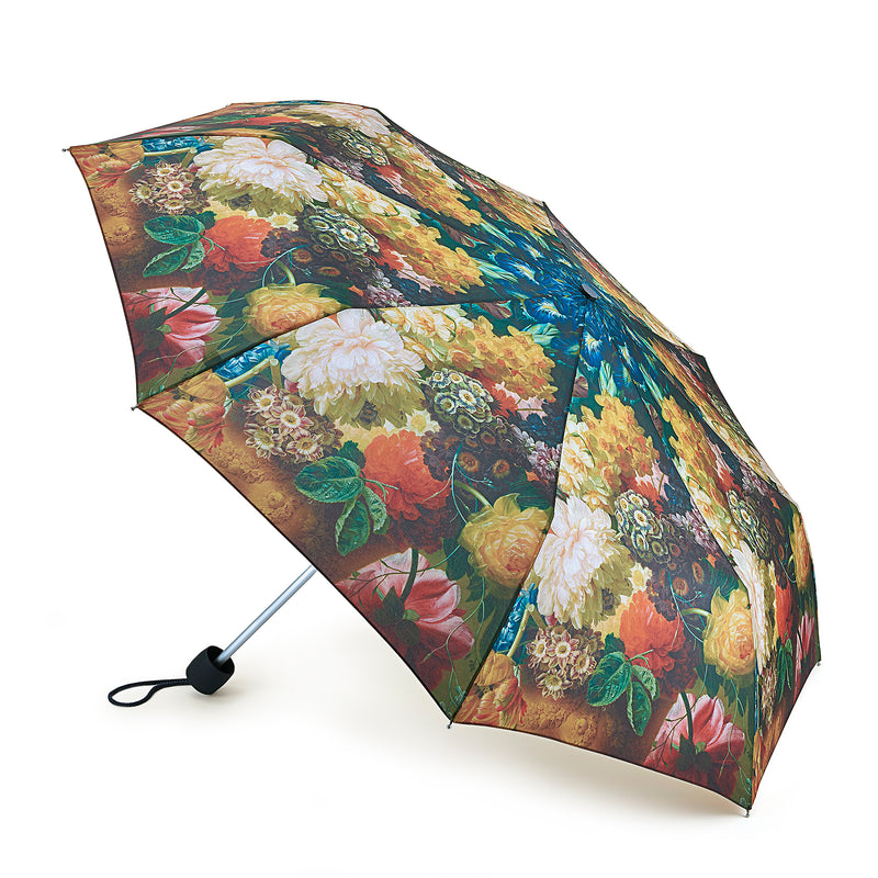 National Gallery Minilite Folding Umbrella - Flowers in a vase