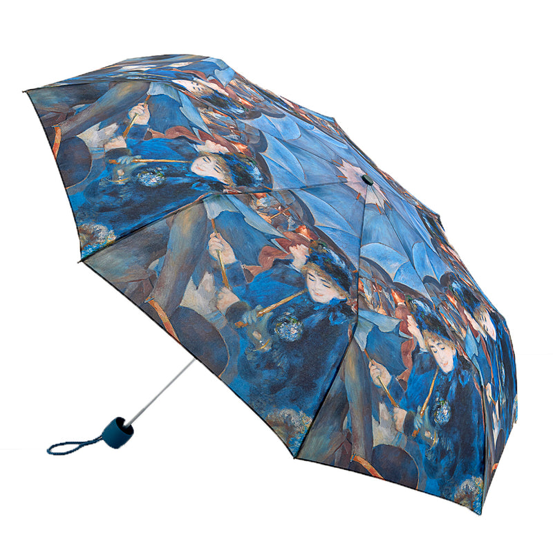 National Gallery Minilite Folding Umbrella - Renior 'The Umbrellas'