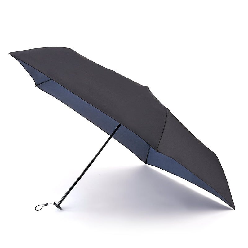 Fulton Aerolite Manual Folding Umbrella - Black UV50+