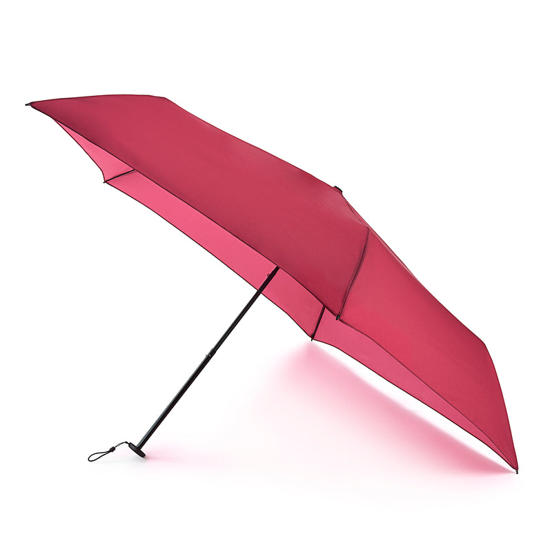 Fulton Aerolite Manual Folding Umbrella - Dark Red UV50+