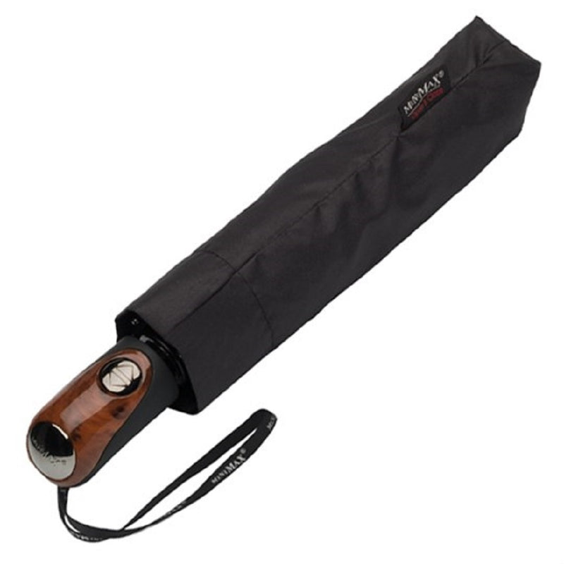 Minimax Executive Auto Folding Umbrella  - Hadar Wood