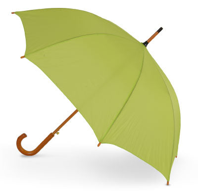 The Alrai Wood Handle Auto Walking Umbrella