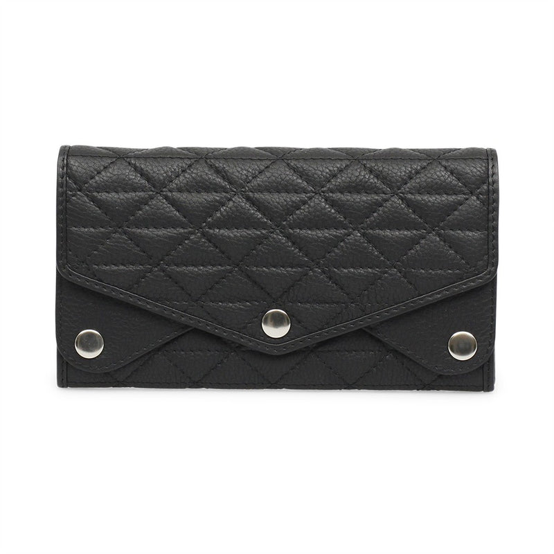 Markberg 'Marga' Black Quilted Purse