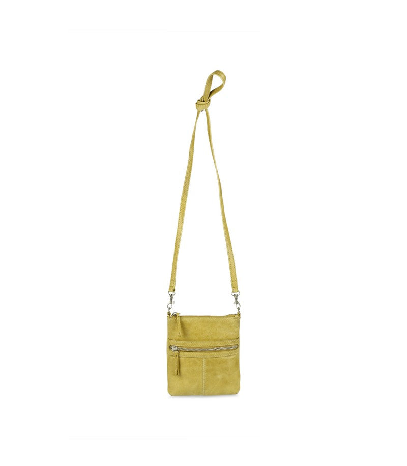 Markberg 'Thea' Crossbody Bag - Mustard Yellow