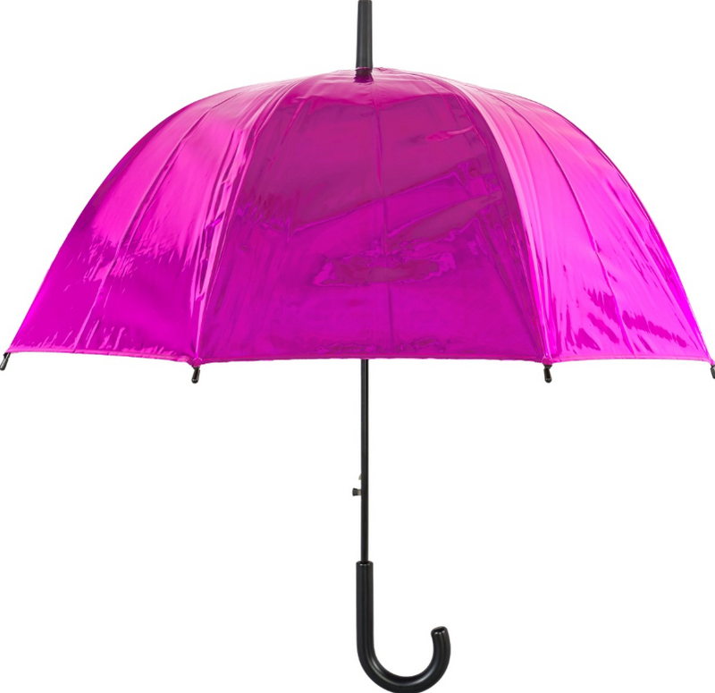 Susino Metallic Auto Dome Umbrella - Hot Pink