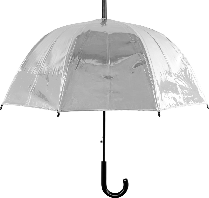 Susino Metallic Auto Dome Umbrella - Silver