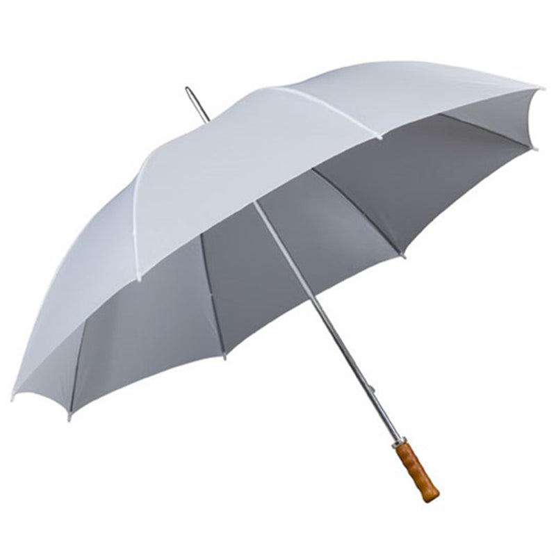 The Mira Wood Handle Golf Umbrella (Solid Colours)
