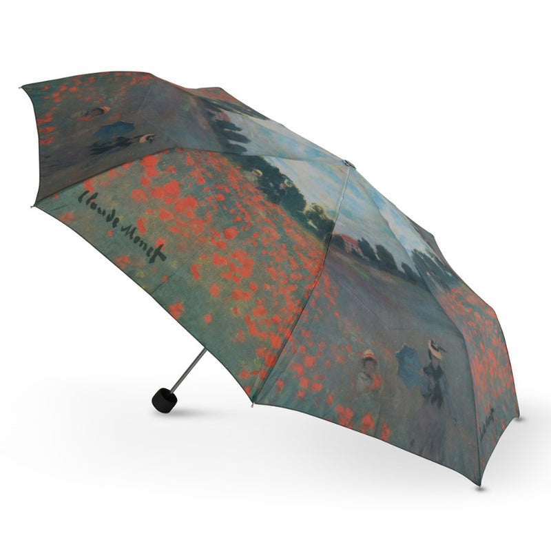 Cascada Collection - Monet Poppy Field Folding Umbrella