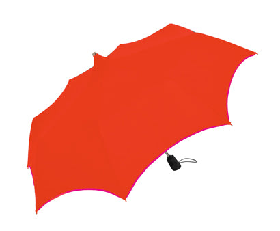 Doppler 'Mystic' Pagoda Orange Automatic Folding Umbrella