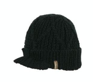 Barts Childrens 'Oscar Beanie' Anthracite grey Winter Hat