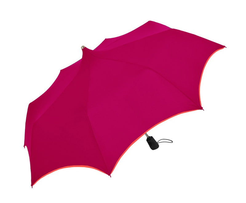 Doppler 'Mystic' Pagoda Pink Automatic Folding Umbrella