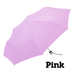 Minilite Folding Umbrella - Pale Pink