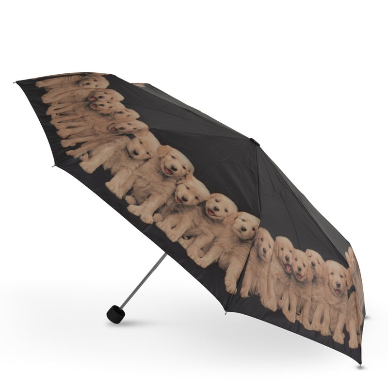 Cascada Collection - Kimberlin Puppy Dog Folding Umbrella