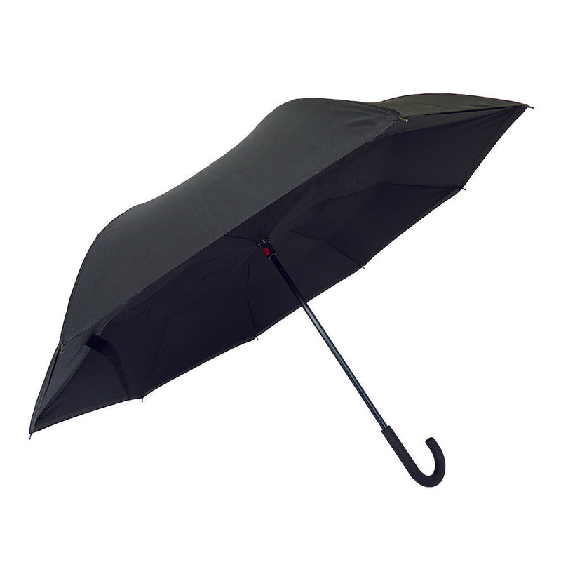 NEW Revolutionary Umbrella Design The Vice Versa Reverse Umbrella - Black