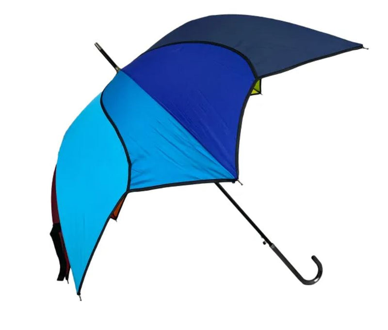 Rainbow Swirl Walking Length, Automatic Ladies Umbrella