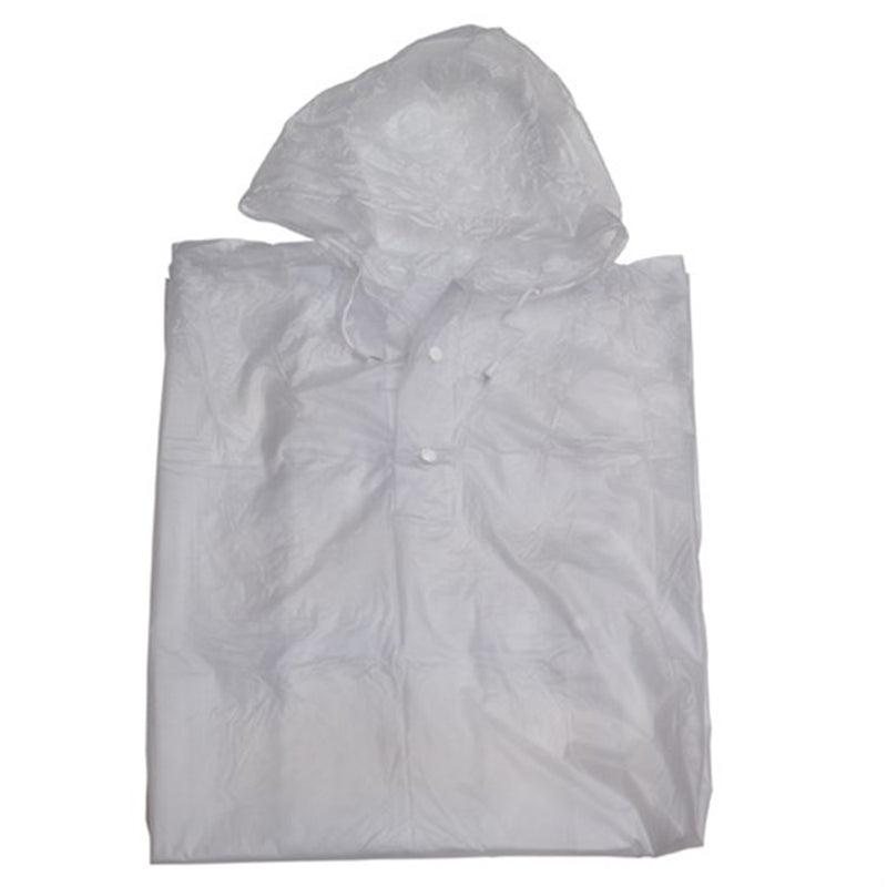 Unisex Raincoat / Poncho - Opaque One Size