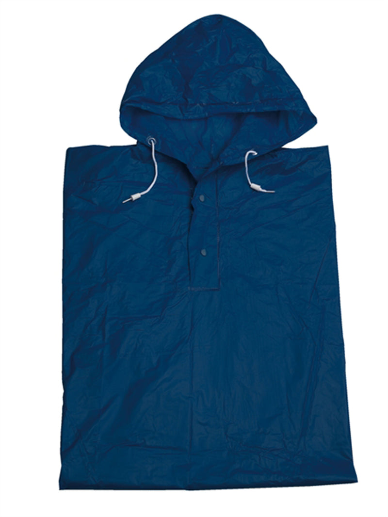 Unisex Raincoat / Poncho - Navy  One Size