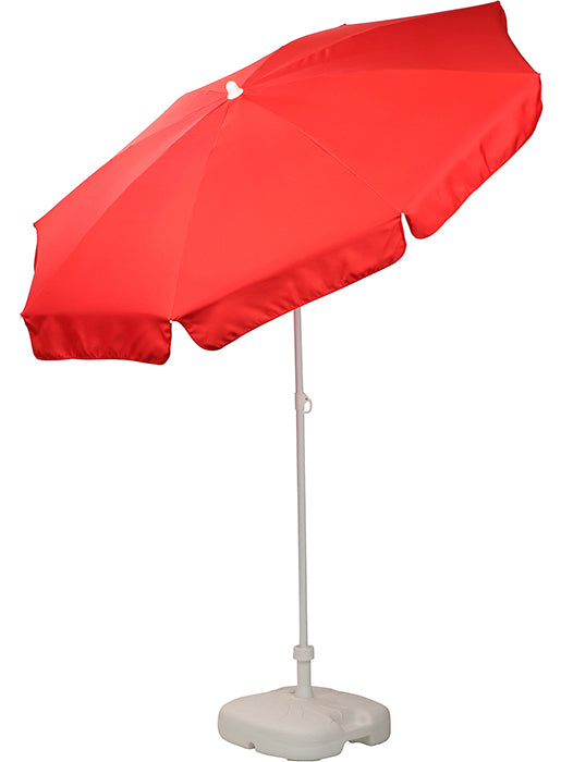 Patio / Garden / Beach Parasol Umbrella - Red