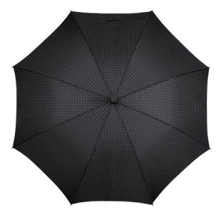 MiniMax Supermini Folding Umbrella in Crosshatch Print