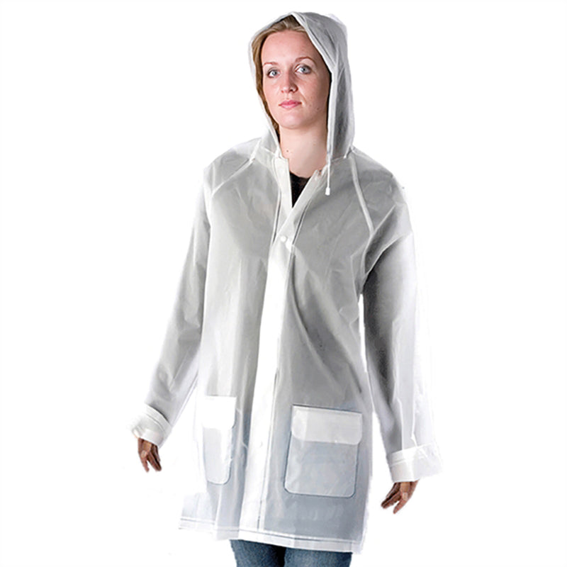Unisex Raincoat  - Opaque  One Size