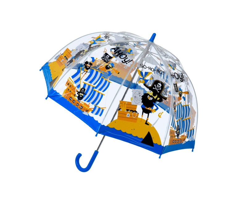 Children's PVC Dome Pirates Umbrella by Bugzz