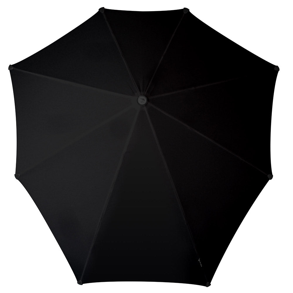 Senz Original Stormproof UV Umbrella - Pure Black