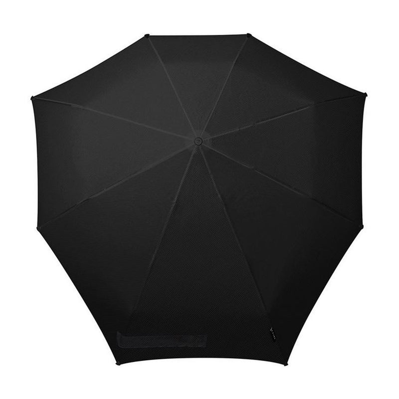 Senz AOC Deluxe Folding Windproof Umbrella - Pure  Black