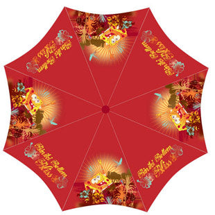 "Spongebob ""Bikini Bottom Bliss"" Character Umbrella"