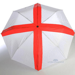 Totes St George's Cross Compact 3 section Umbrella
