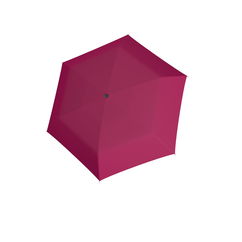 Carbon Steel Mini Slim Folding Umbrella - Very Berry