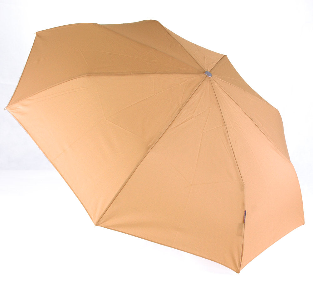 "Bugatti ""Take It"" Windproof Folding Umbrella - Camel"