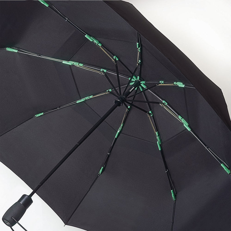 Fulton Performance 'Tornado' Golf Size Folding Umbrella - Black
