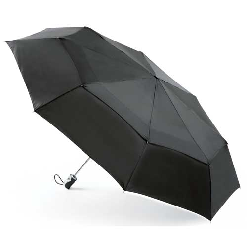"Totes ""Bigtop"" Double canopy Auto Open & Close Umbrella"