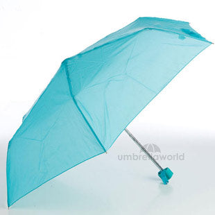 Mini Flat Supermini Umbrella - Turquoise