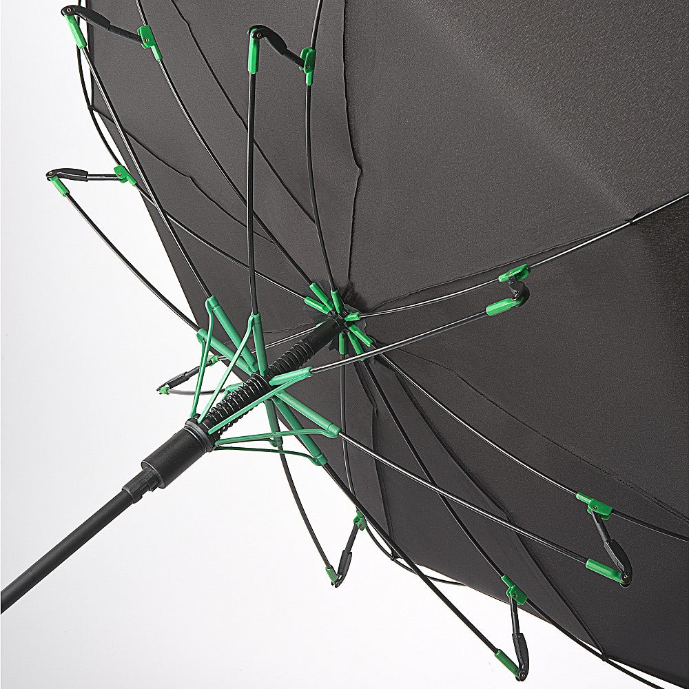 Fulton Performance 'Typhoon' Walking Umbrella - Black