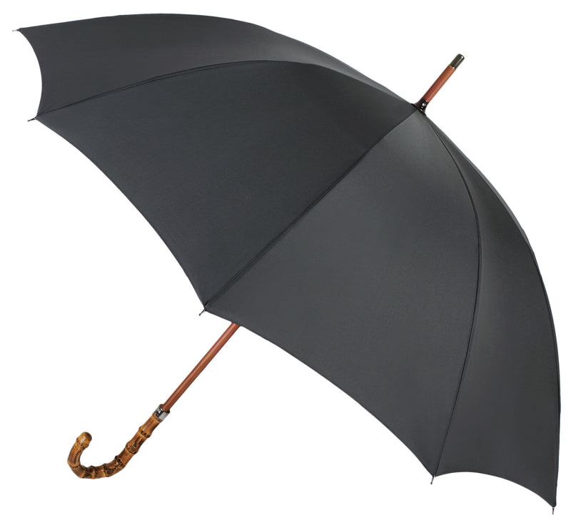 Executive City Walker umbrella with Bamboo Handle - Anthracite