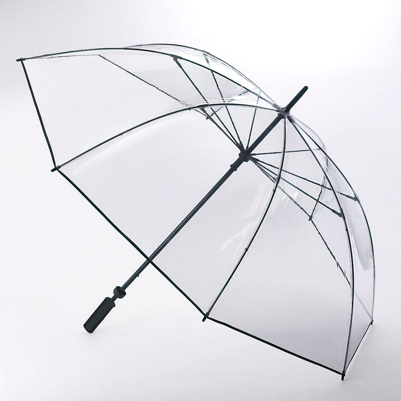 Large Clear Golf Umbrella with Wind Resistant Frame