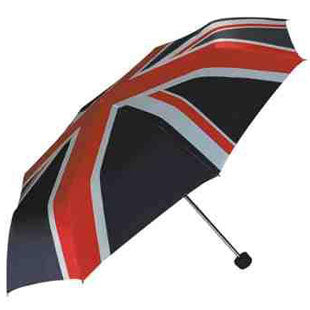Union Jack Compact 3 section Umbrella