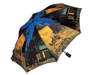 "Doppler Art Collection Van Gogh ""Cafe Terrace"" Auto Folding Umbrella"