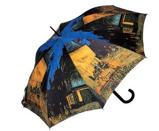 "Doppler Art Collection Van Gogh ""Cafe Terrace"" Auto Walking Umbrella"
